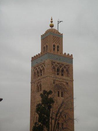 Mosquée et minaret de Koutoubia : Koutoubia Mosque - Minaret