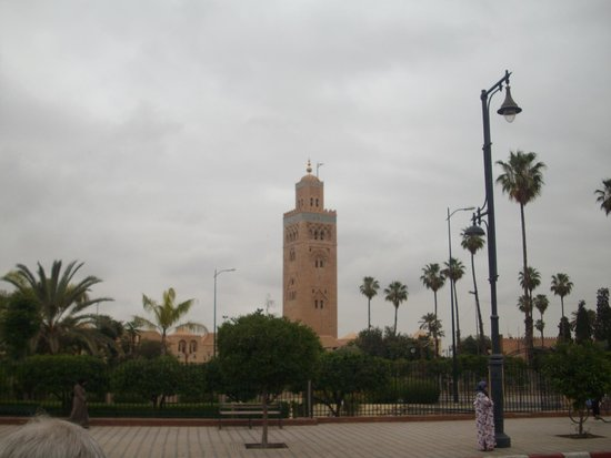 Mosquée et minaret de Koutoubia : Koutoubia Mosque --- key landmark!
