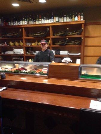 Yama Asian Fusion: Their sushi bar.