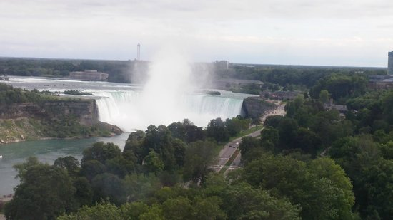 Clifton Hill: Canadian Horseshoe Falls from the Skywheel