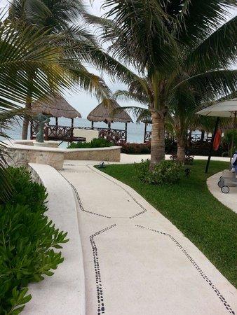 Azul Beach Hotel : Grounds
