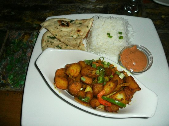 Ginger - Carib Asian Cuisine- : Vegetarian Potato Dish