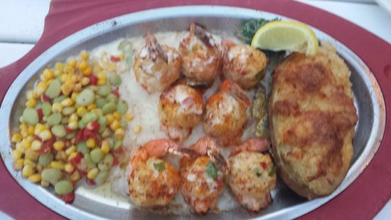 Stuffed Shrimp Picture Of The Back Porch Seafood Oyster House