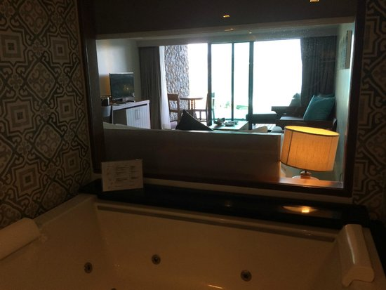 U Zenmaya Phuket: view from the bathroom