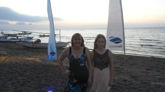 Spice Beach Club: My daughter and I
