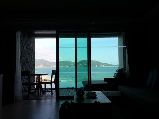 U Zenmaya Phuket: view from the bed