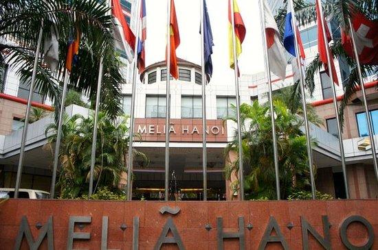Melia Hanoi: エントランス