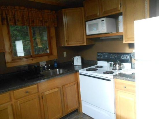 Gunflint Pines Resort & Campgrounds: Kitchen in cabin