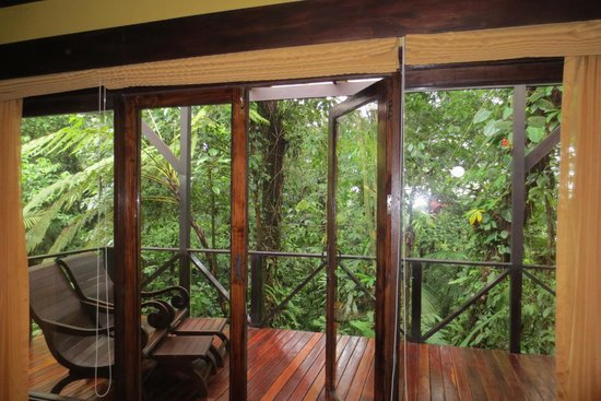 Rio Celeste Hideaway Hotel: View from casita 20