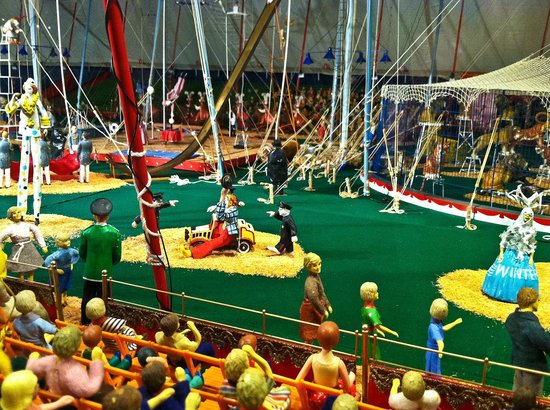 The Ringling: Tibbals Miniature circus detail