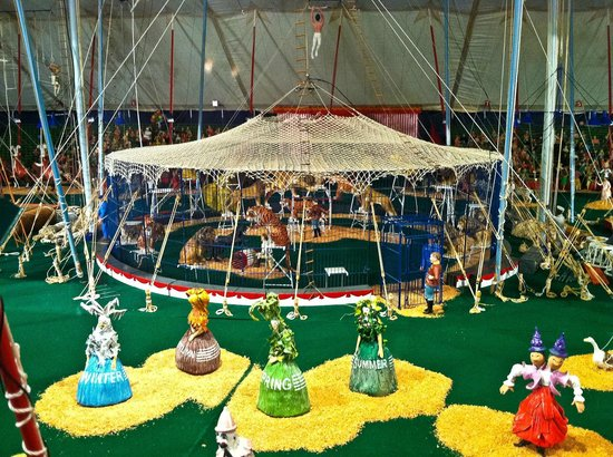 The Ringling: Miniature circus detail