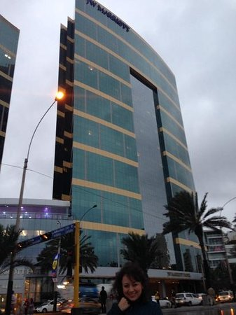 JW Marriott Hotel Lima: vista del hotel