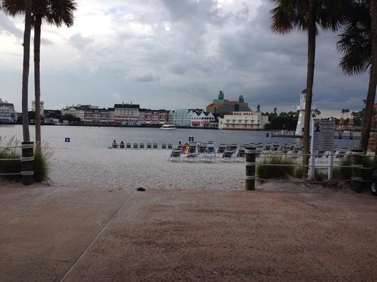 Disney's Beach Club Resort: The Boardwalk view from rear of Beach Club