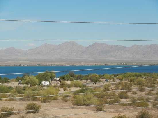 Hampton Inn Lake Havasu City : View from window
