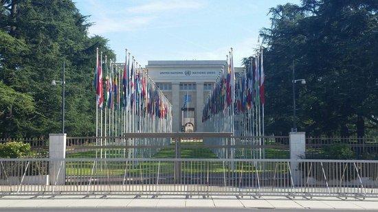 UNOG - Palais des Nations: Interessante