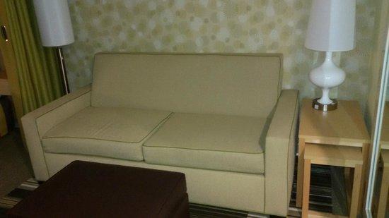Home2 Suites Rahway : o sofá cama