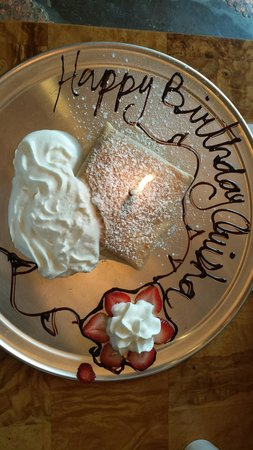 Penny Path Cafe : My birthday crèpe & it was delicious!!!!!!