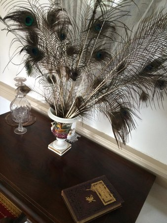 The Ximenez-Fatio House: Peacock feathers and Milton
