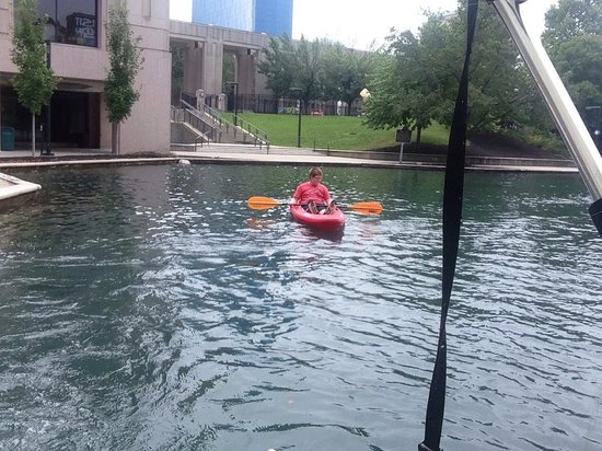 Kayaking Central Canal