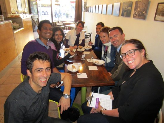 Avital Food Tours: Our food tour group