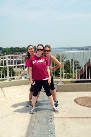 The Big Four Bridge: Indiana and Kentucky!