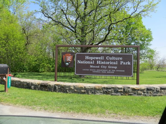 Hopewell Culture National Historical Park : The Entrance
