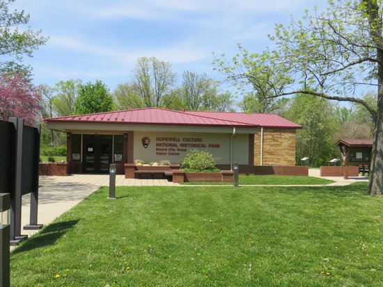 Hopewell Culture National Historical Park : The visitors center