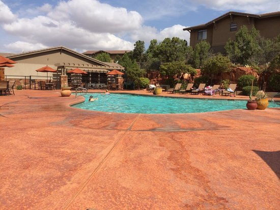 Wyndham Sedona : Wyndham's pool