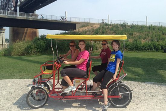 Louisville Waterfront Park : Enjoy park by renting from Wheel Fun Rentals