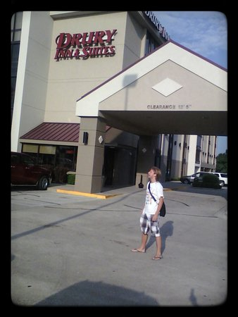 Drury Inn & Suites Springfield: My son Maxwell loved this place!