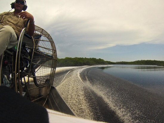 Captain Jack's Airboat Tours: hi-speed airboat