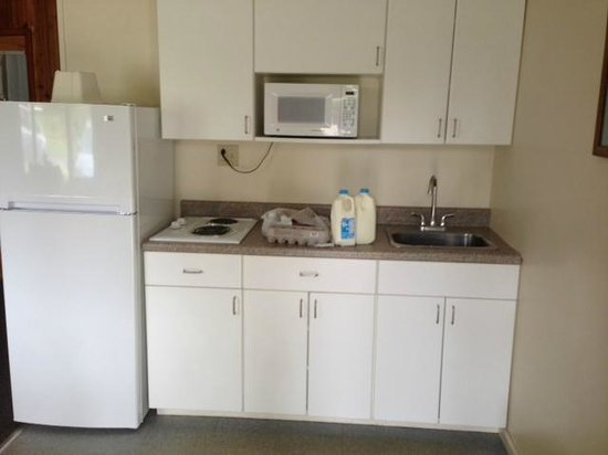 Capri Village on Lake George: Kitchenette - fine