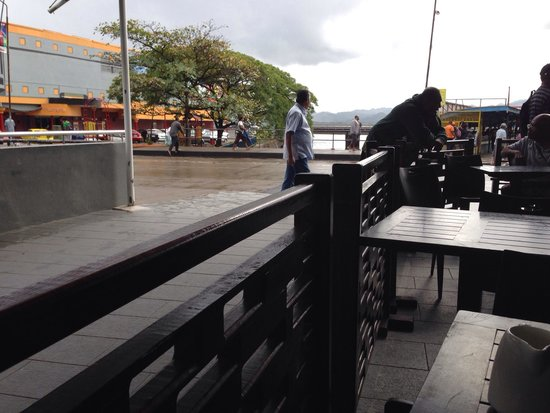 Caffee ONE: View from outside tables