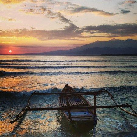 gili meno sunrise