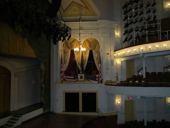 Ford's Theatre: The Presidential Box