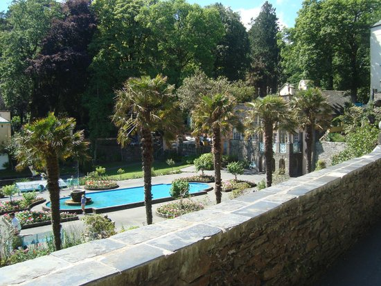 Portmeirion Village: Subtropical plants