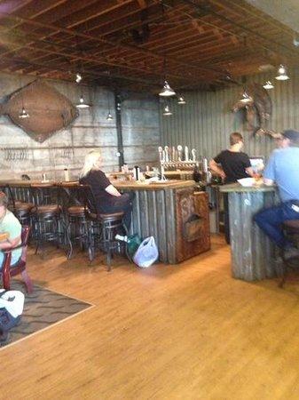 Seward Brewing Company: bar