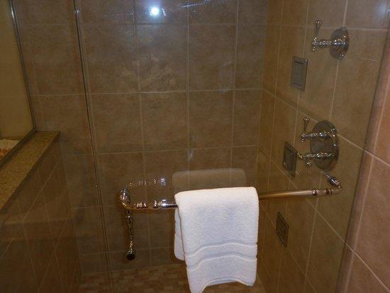 Bavarian Inn Lodge: Whirlpool suite shower