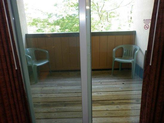 Bavarian Inn Lodge: Private balcony