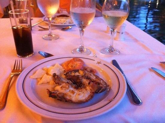 Iberostar Bavaro Suites : lagostin e camarao