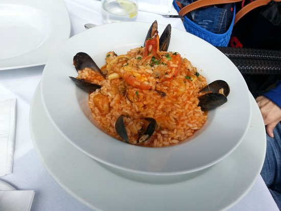 Nuovo Brasserie: Seafood risotto