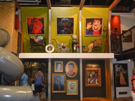 Children's Museum of Pittsburgh : The Attic. Very cool.