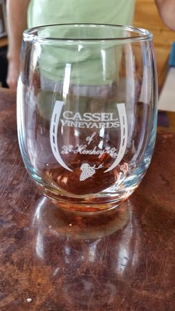 Cassel Vineyards of Hershey: Good tastings of Cassel's wine