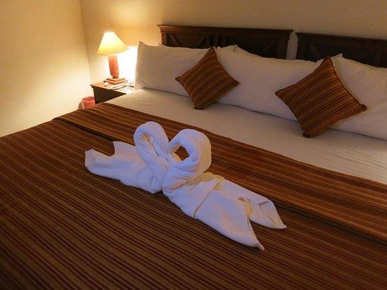 San Agustin Monasterio de la Recoleta Hotel : 2階ベッドルーム