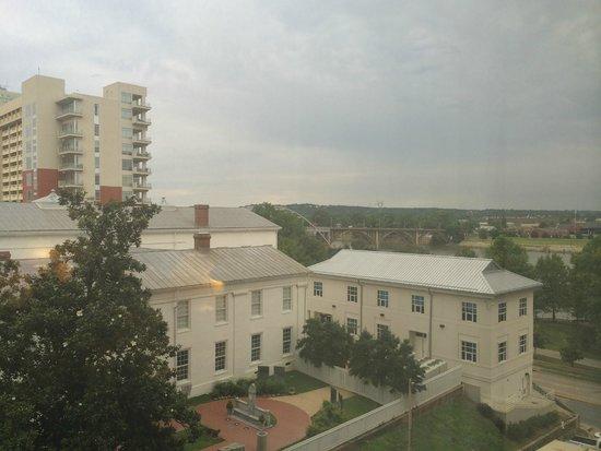 Little Rock Marriott: good view