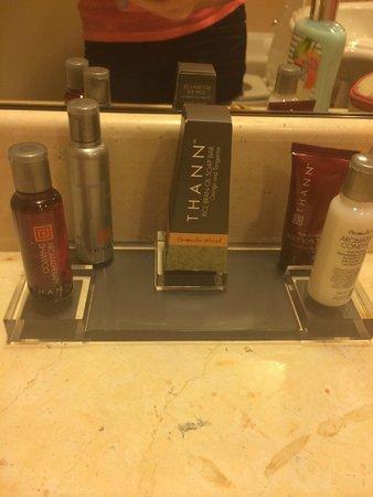 Little Rock Marriott: bathroom