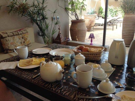 Riad Vanilla sma: 朝ごはん