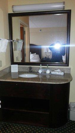 Holiday Inn Express Hotel & Suites South Portland: pia fora do banheiro