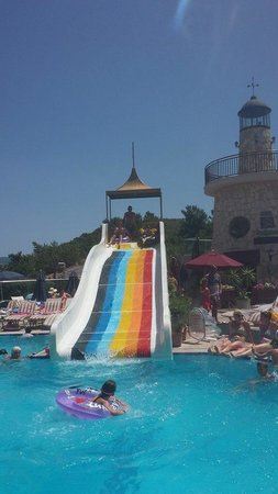 Grand Cettia Hotel: The slide