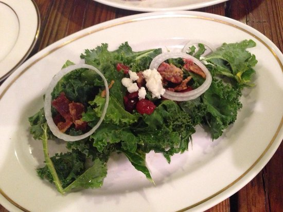 The Mulefoot Gastropub: Kale salad was okay, nothing special
